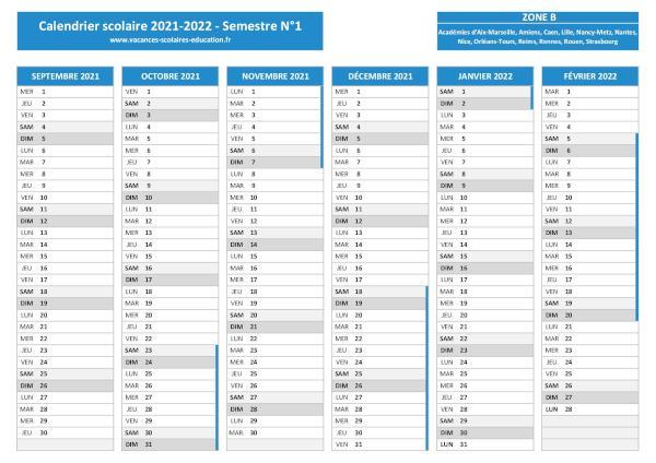Vacances scolaires Lille   Calendrier scolaire 2020 2021 et 2021 2022