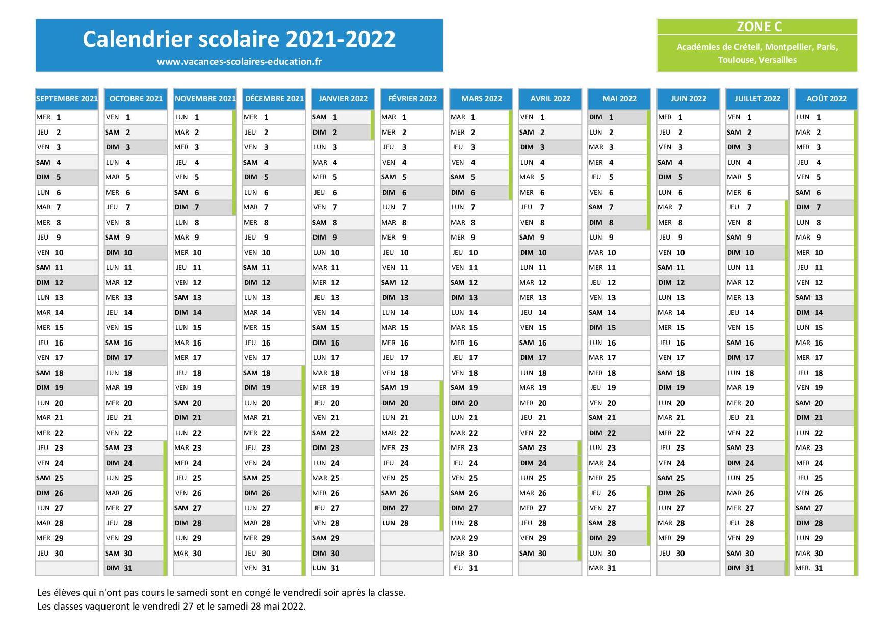 Calendrier Ffct 2022 Calendrier Mar 2021: Calendrier Vae 2021 2022 Ile De France