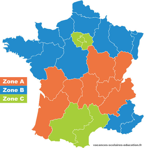 Calendrier Scolaire 2021 2022 Zone B Calendrier scolaire 2021 2022   Dates des congés scolaires 2021